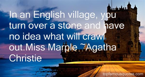 Quotes About Miss Marple