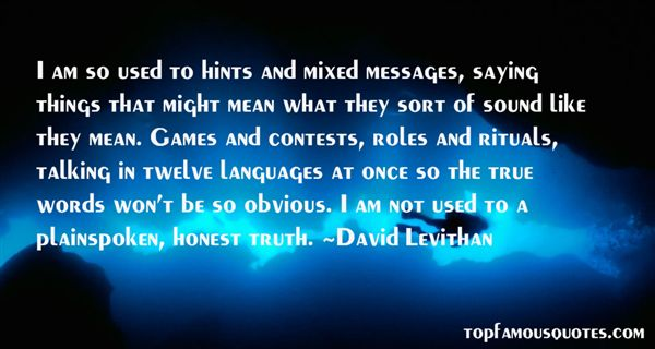 Quotes About Mixed Messages