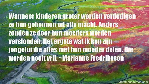 Quotes About Moeders