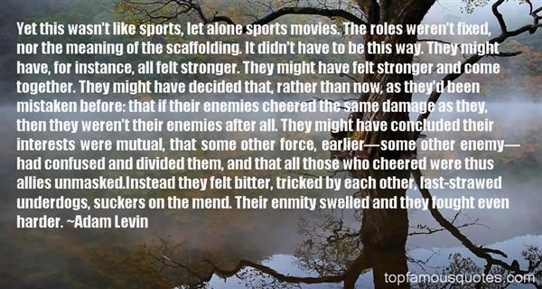 Quotes About Movie Underdogs