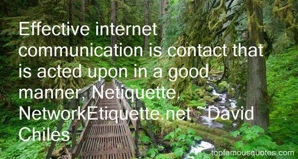 Quotes About Netiquette