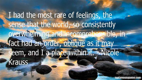 Quotes About Oblique