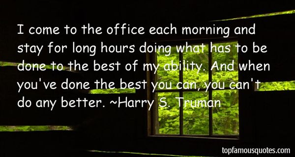 Quotes About Office Hours