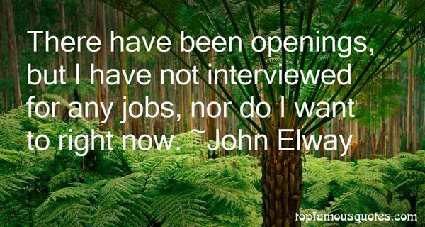 Quotes About Openings