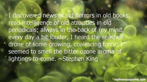 Quotes About Ozone