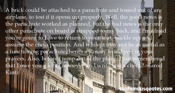 Quotes About Parachute