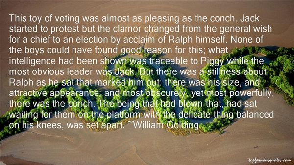 Quotes About Ralph And The Conch