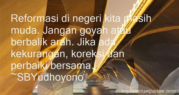 Quotes About Reformasi