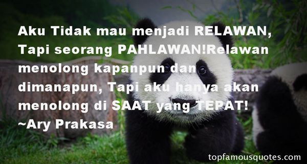 Quotes About Relawan