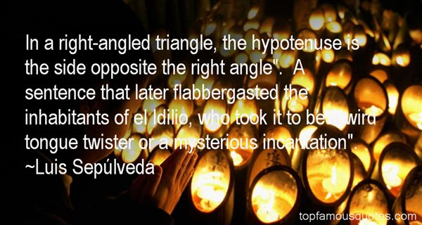 Quotes About Right Triangle