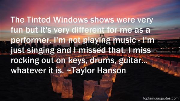 Quotes About Rocking Out
