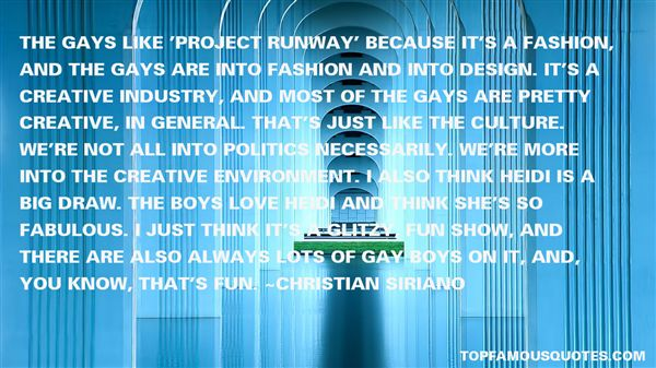 Quotes About Runway Fashion
