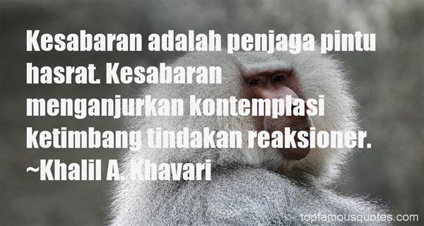 Quotes About Sabar