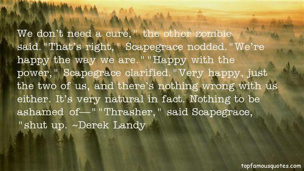Quotes About Scapegrace