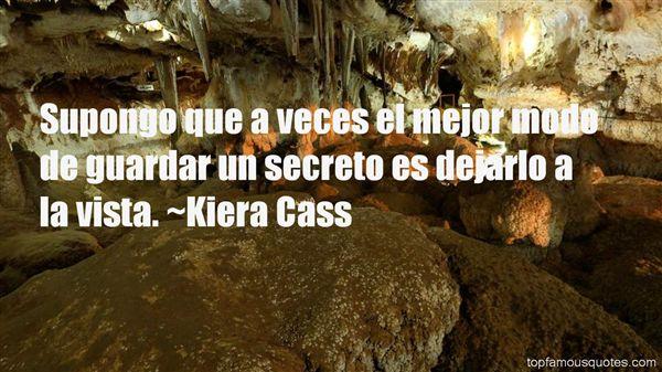 Quotes About Secreto