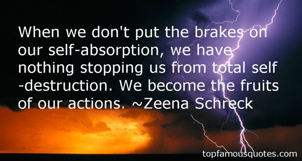 Quotes About Self Absorption