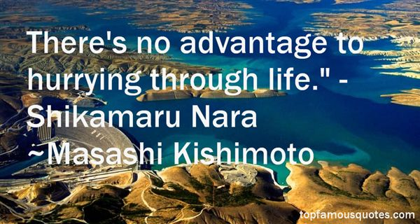 Quotes About Shikamaru