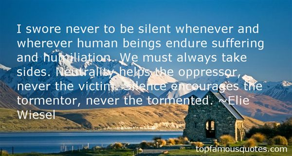 Quotes About Silent Suffering