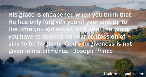 Quotes About Sins And Forgiveness