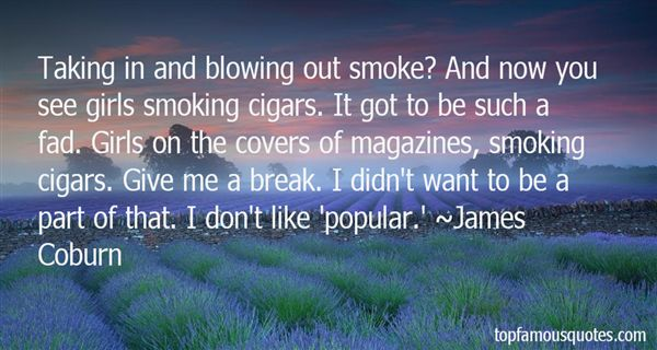Quotes About Smoking Cigars