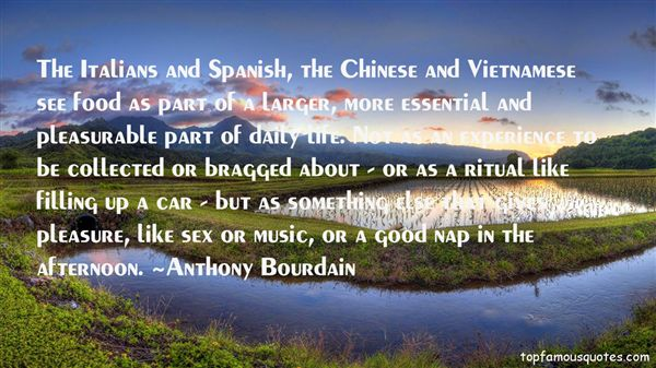 Quotes About Spanish Food