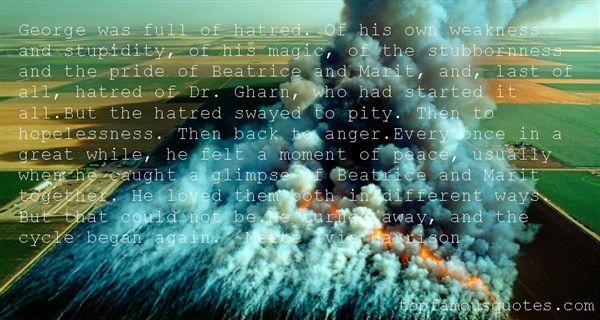 Quotes About Stubborn Pride