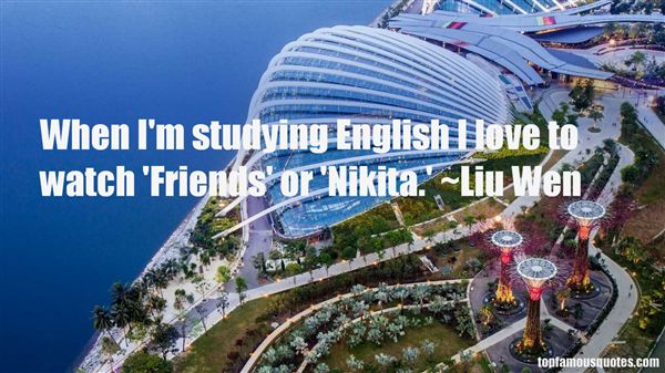 Quotes About Studying English
