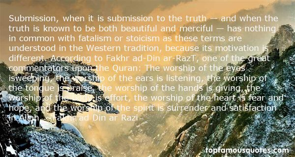 Quotes About Submission To Allah
