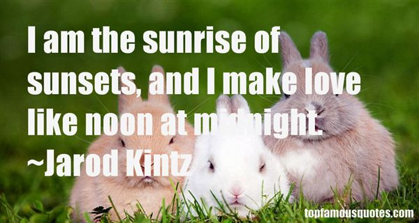 Quotes About Sunsets