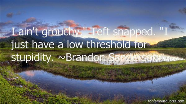 Quotes About Teft