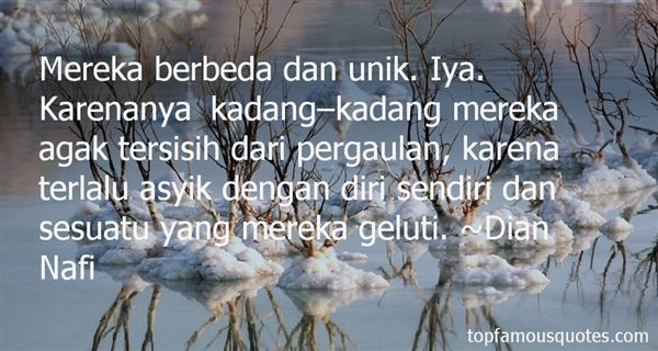 Quotes About Tersisih