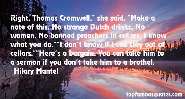 Quotes About Thomas Cromwell