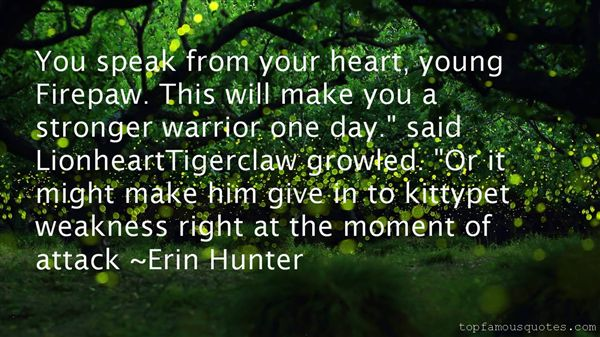 Quotes About Tigerclaw