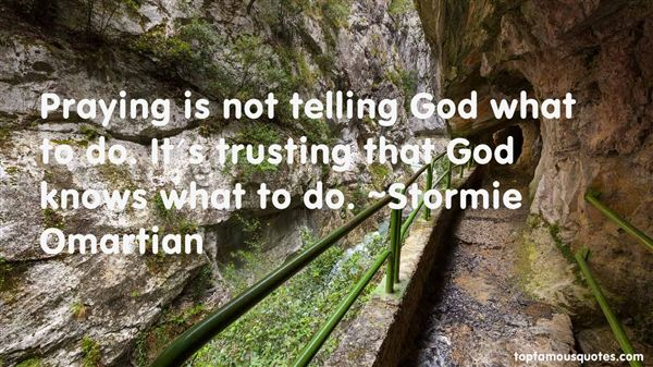 Quotes About Trusting