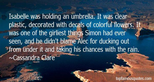 Quotes About Umbrella And Rain