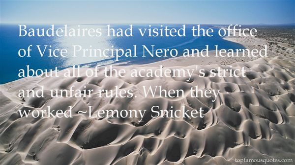 Quotes About Vice Principal