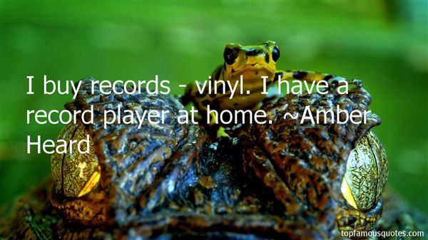 Quotes About Vinyl