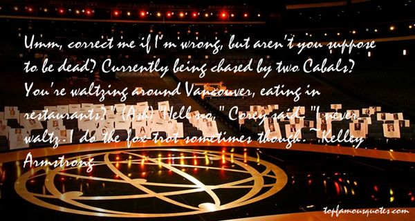 Quotes About Waltzing