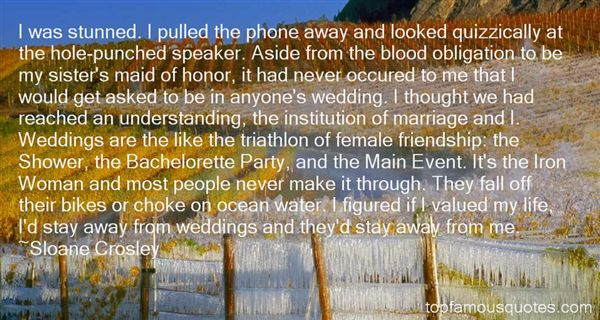 Quotes About Weddings
