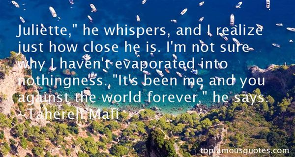 Quotes About Whispers