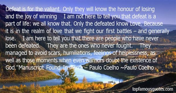 Quotes About Winning A Battle