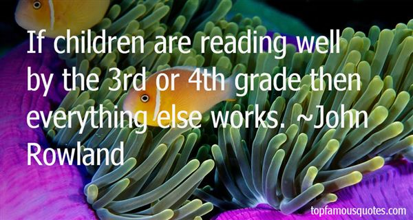 Quotes About 3rd Grade