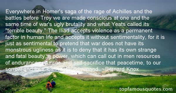 Quotes About Achilles Iliad