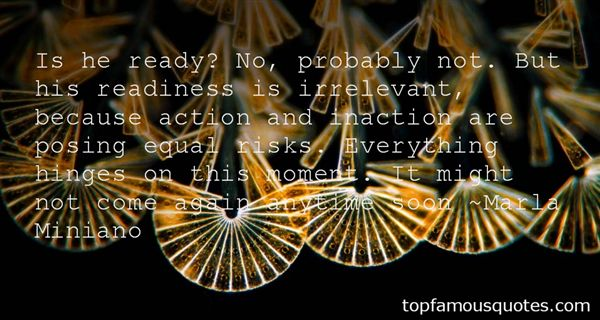 Quotes About Action And Inaction
