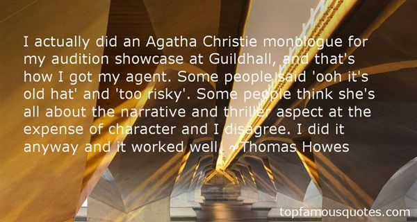 Quotes About Agatha Christie