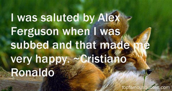 Quotes About Alex Ferguson