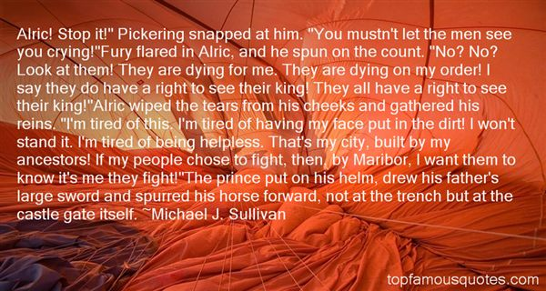 Quotes About Alric