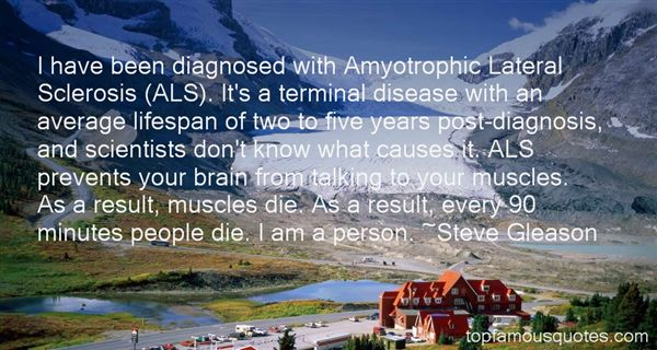 Quotes About Als Disease