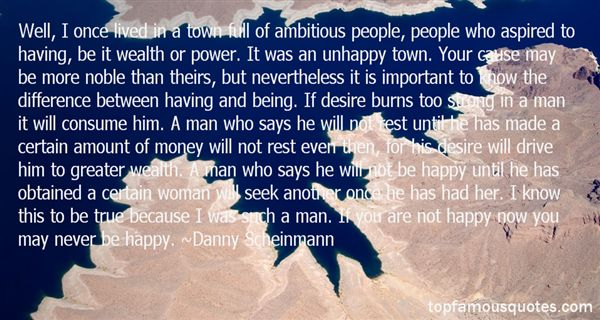 Quotes About Ambitious Man