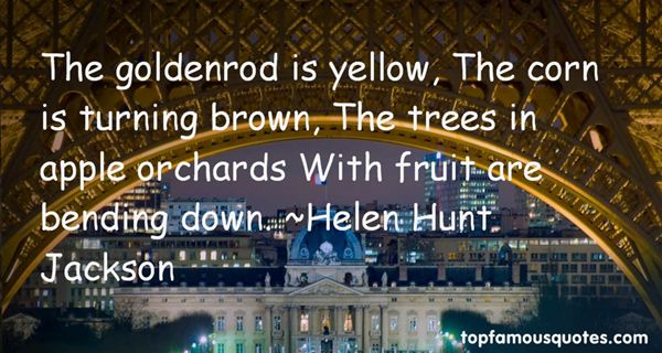 Quotes About Apple Orchards
